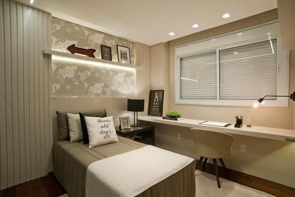 Suíte menino apartamento decorado