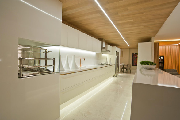 Cozinha apartamento decorado