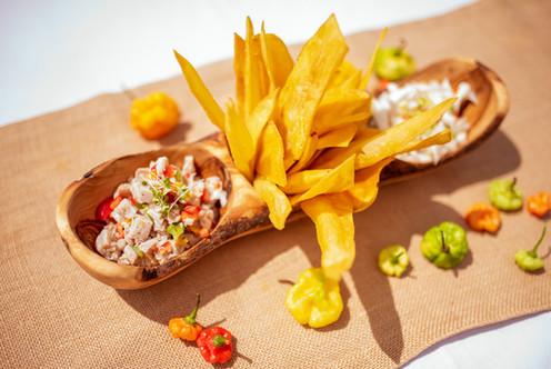 Local Ceviche Duo (Coconut & Fish) Photo