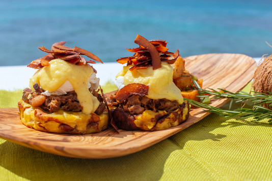 Locavore Brunch Oxtail Benny 2 -Photogra