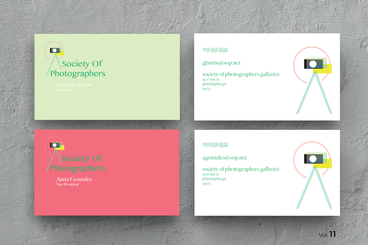 S.P. Business Cards