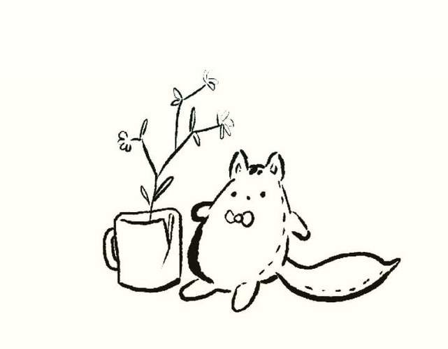 A Kitty and a Cup
