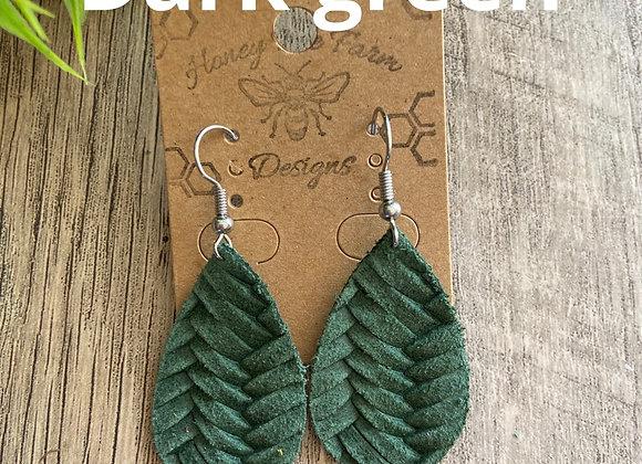 Mini teardrop earrings
