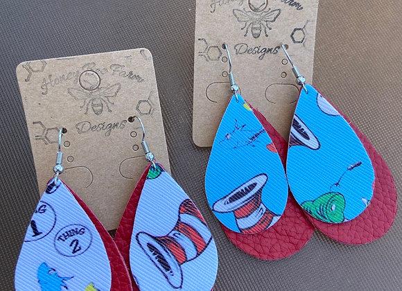 Double Layer Seuss Earring