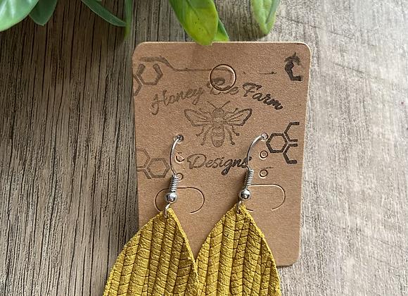 Fishtail Mini teardrop earrings