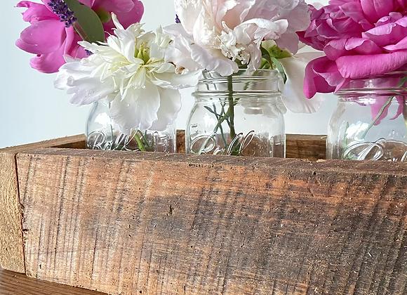 Barn wood boxes