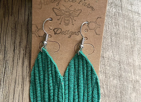 Fishtail Mini teardrop earrings