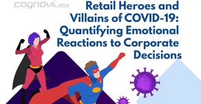 Retail Heroes and Villains of COVID-19:  Quantifying Emotional Reactions to Corporate Decisions