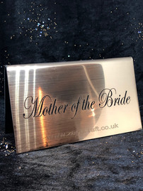 Mother of Bride Wedding Sign