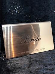 Bride Wedding Sign