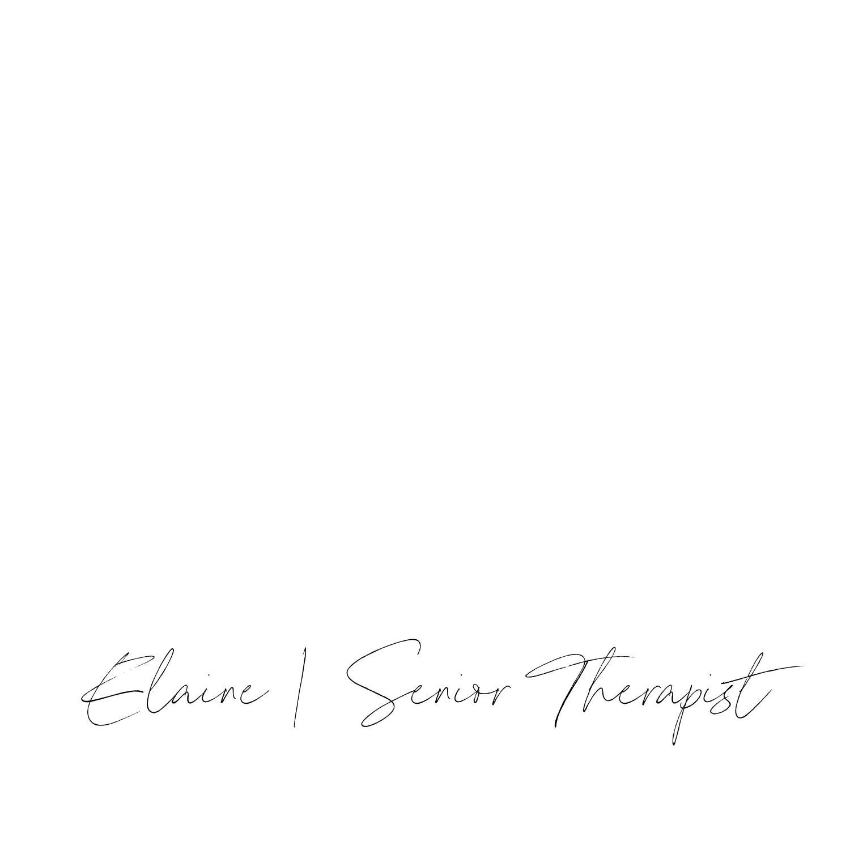 Elaine | Senior Therapist