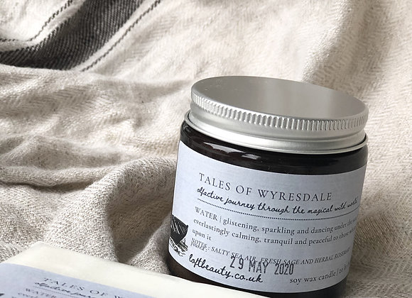 NEW   tales of Wyresdale   WATER   Soy Candle