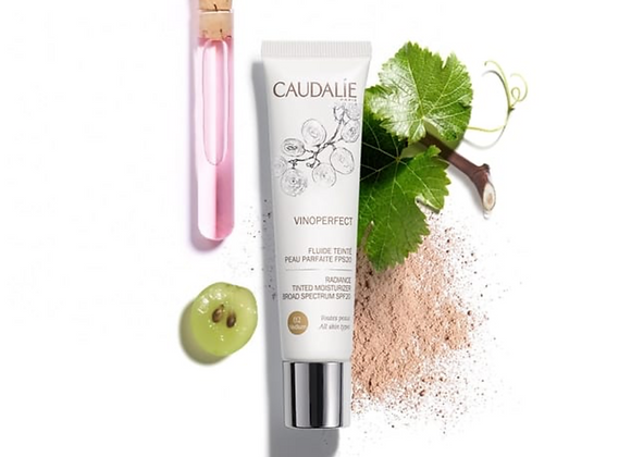 Caudalie Vinoperfect Radiance Tinted Moisturiser MEDIUM SPF20