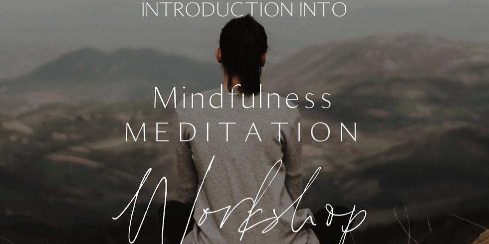 Introduction into MINDFULNESS MEDITATION
