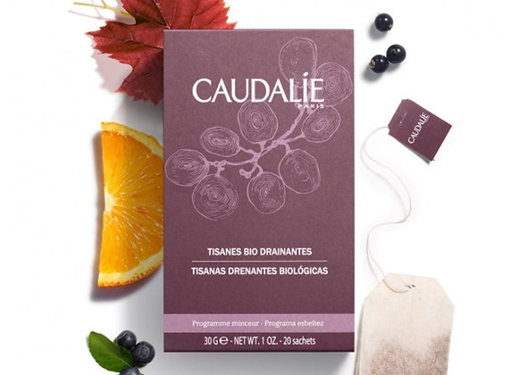 Caudalie Herbal Detox and Drain Wellness Tea (box of 20)