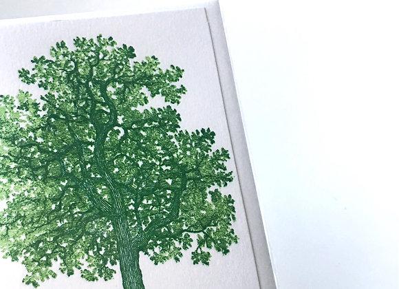 Tree Mini Note Card (blank inside)