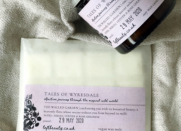 NEW | tales of Wyresdale | THE WALLED GARDEN | Vegan Wax Melt