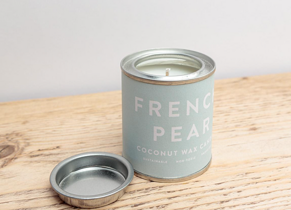 French Pear Conscious Tin Candle
