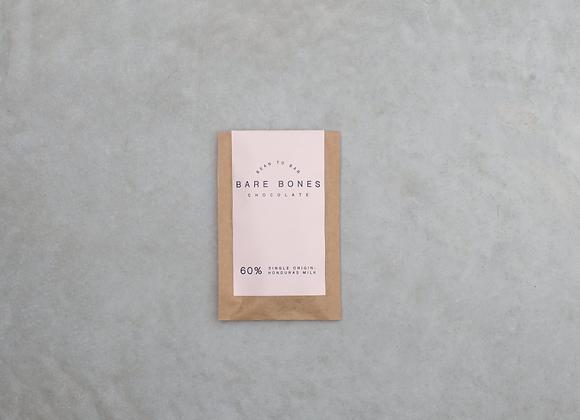 Bare Bones Chocolate 20g Honduras 60% Milk