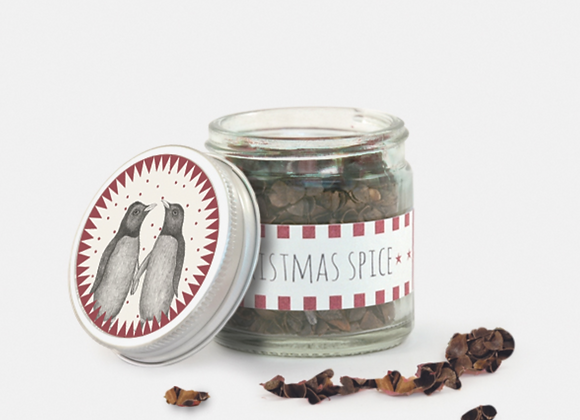 Christmas Spice Jar