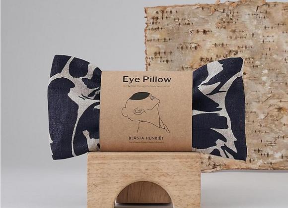Linen Wheat Eye Pillow | Navy