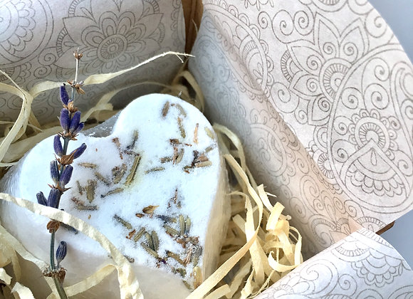 Natural Lavender Bath Bomb