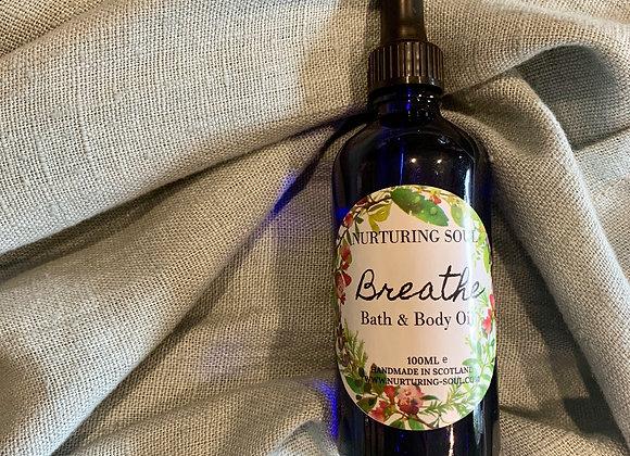 Breathe Bath & Body Oil