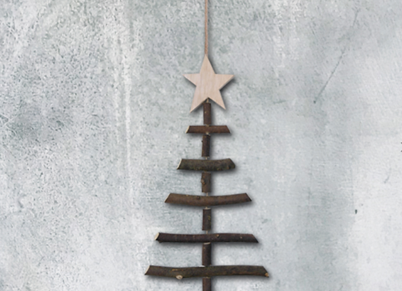 Small Twig Christmas Tree