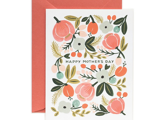 Rifle Paper Blooming Mother's Day Card