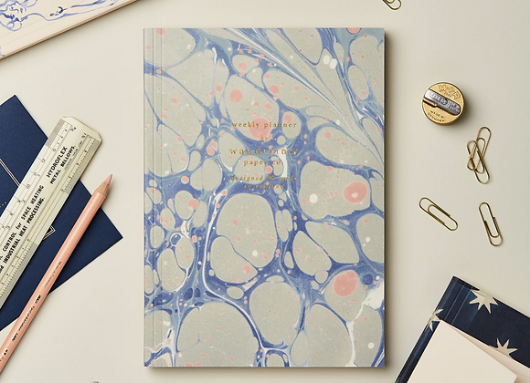 Weekly Planner | Blue Marble