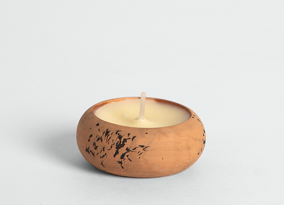 ST. EVAL Thyme + Mint Scented Teracotta Tealight