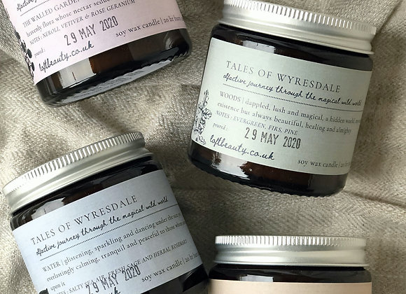NEW | tales of Wyresdale | COMPLETE COLLECTION | Soy Candles