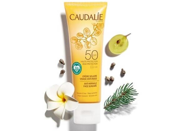 N E W Caudalie anti-wrinkle SPF50 Face Cream