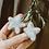 Thumbnail: Natural handmade wool stars decorations | set of 6