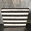 Thumbnail: Large Wide Striped Cosmetic Bag
