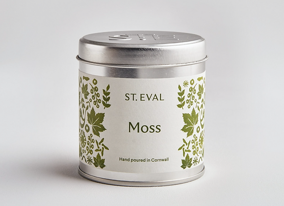 ST. EVAL Moss Scented Tin Candle