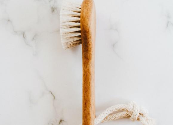 Wooden Facial Brush