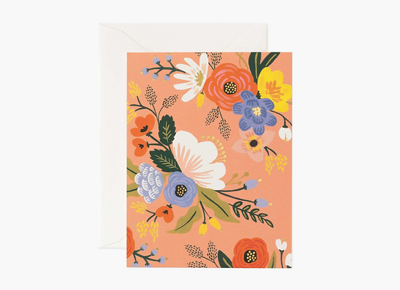 Rifle Paper Co. Lively Floral Pink Card