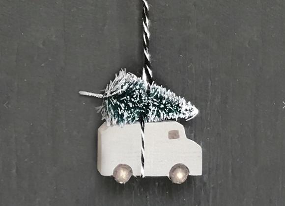 Hanging Van Tree On Roof