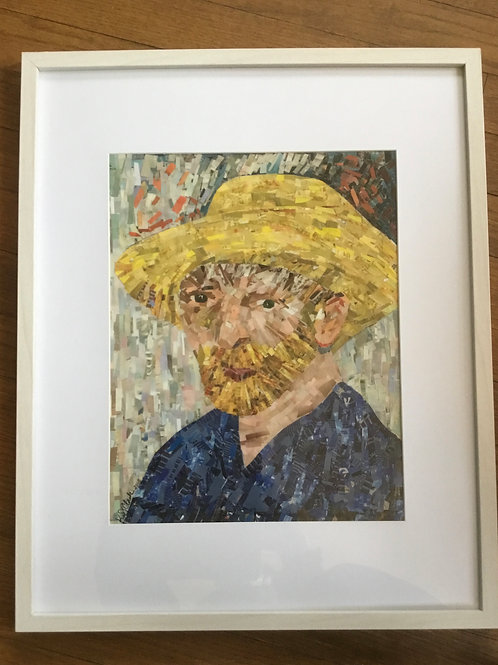 Van Gogh in Yellow Hat