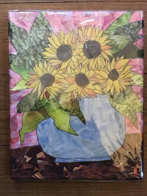 Happy sunny flowers