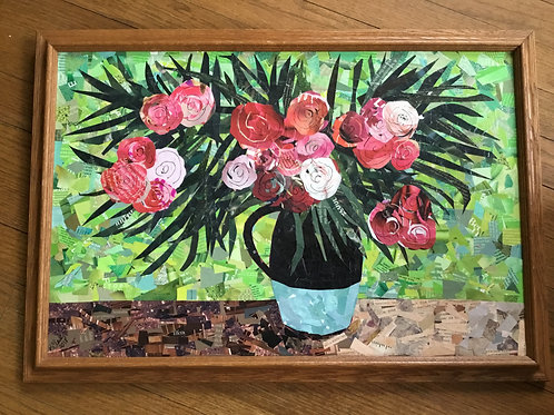 Van Gogh-inspired Roses