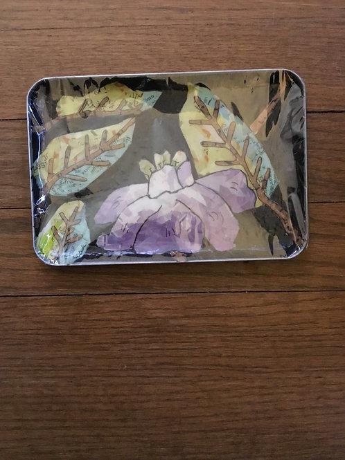 Small metal trinket tray