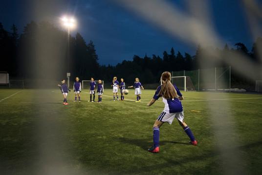 女子サッカーチーム