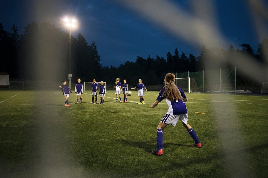 여자 축구 팀