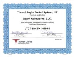 Triumph Correlation Certification