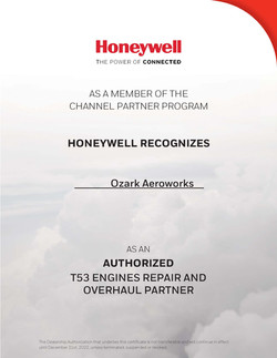 Honeywell Cert