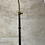 Thumbnail: A steel  and brass floor lamp attributed to Jaques Adnet .