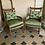 Thumbnail: A pair of early XIX century French arm chairs with revolutionary carvings.