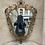 Thumbnail: A metal gilded mirror .